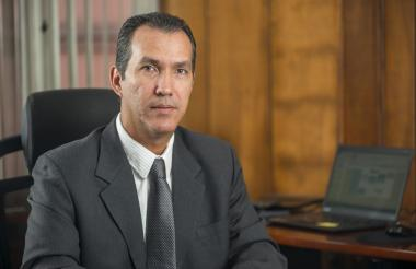 El gerente del ICA, Luis Humberto Martínez.