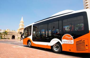 Transcaribe es uno de los transportes en Colombia que funcionan con gas natural.