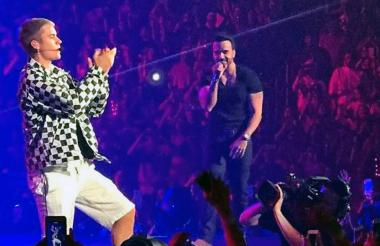 Justin Bieber y Luis Fonsi
