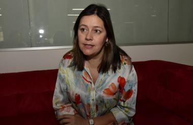 Juana Téllez, economista jefe de BBVA Colombia.