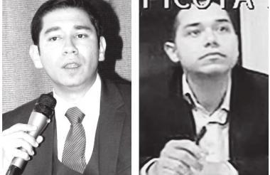 Luis Gustavo Moreno y Leonardo Pinilla.