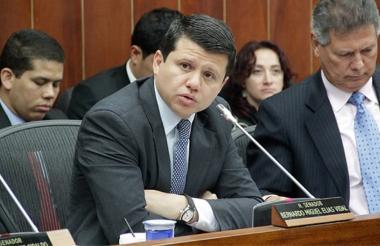 Bernardo 'Ñoño' Elías, senador del Partido de La U.