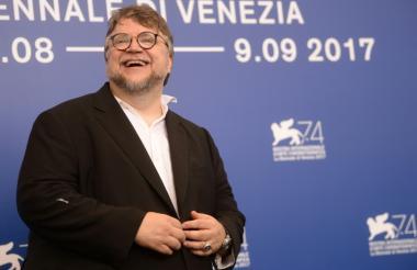 El mexicano director de cine Guillermo del Toro.