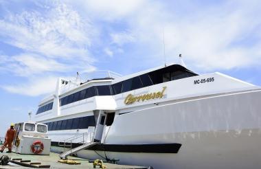 Así luce 'Carrousel', el barco para pasear por el río Magdalena.