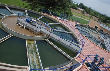 Planta de tratamiento de agua de Triple A.