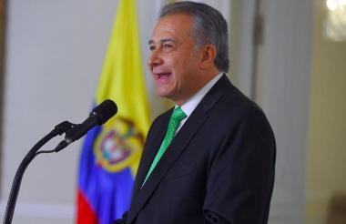 Óscar Naranjo, vicepresidente de la República.