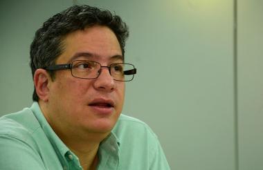 Santiago Rojas, director de la DIAN.