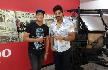 'El Pin' y 'Jtop' conforman el dúo urbano Estéreobeat.
