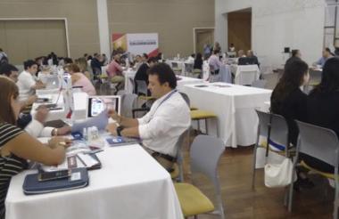 Rueda de negocios realizada en Barranquilla.