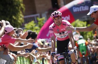 Tom Dumoulin, campeón del Giro de Italia 2017.