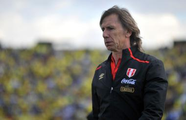 Ricardo Gareca, director técnico de la selección peruana.