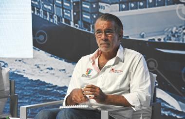 Eduardo Verano, gobernador del Atlántico.