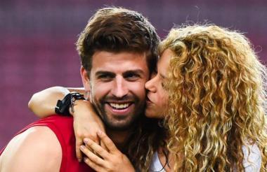 Gerard Piqué y Shakira Mebarak.
