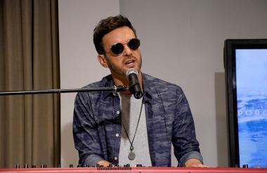 El cantautor argentino Axel durante su paso por #SesionesEH.