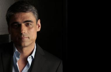 El escritor chileno Pablo Simonette.