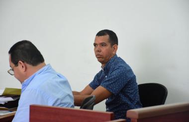 El concejal Recer Lee Pérez Torres en la audiencia de solicitud de medida de aseguramiento.