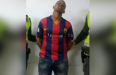 Leandro Andrés Paz Rubio, de nacionalidad venezolana, capturado por homicidio.