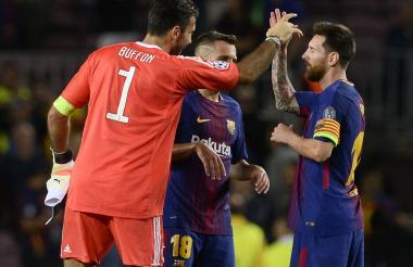 Buffon, Jordi Alba y Messi están en la lista.