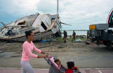 En Puerto Rico también hubo devastación por María