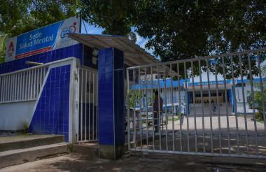 Fachada de la sede de Salud Mental del Hospital Universitario Cari.