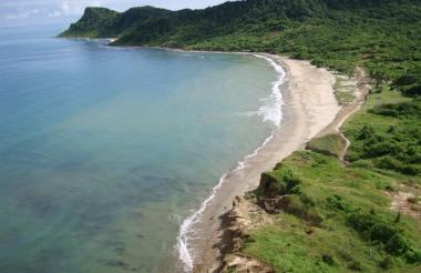 Playas El Artillero, en el municipio de Piojó, Atlántico.