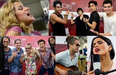 Adriana Lucía, CNCO, Colectro, Martina La Peligrosa y Vicente García, son los cinco nominados al Grammy Latino 2017 que han pasado por #SesionesEH.