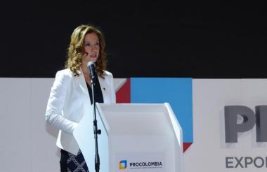 María Claudia Lacouture, directora ejecutiva de la Cámara de Comercio Colombo Americana.