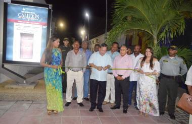 Inauguración de la Sala Abierta de Arte, Historia y Cultura de La Guajira.