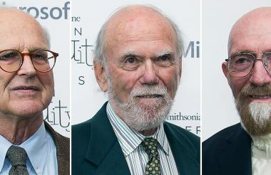 Rainer Weiss, Barry Barish y Kip Thorne fueron proclamados Premio Nobel de Física 2017.