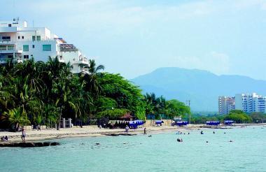 Santa Marta es uno de los destinos turísticos de la Región Caribe.