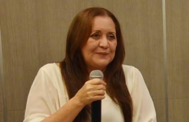 Lucy de la Ossa, directiva de Fenavi en Barranquilla.