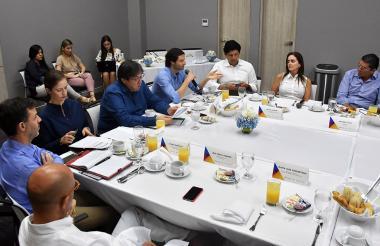 Aspecto del conversatorio organizado por ProColombia.