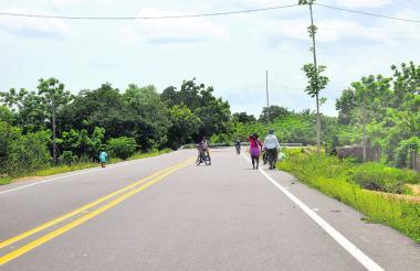 Uno de los proyectos bandera es el mejoramiento de la vía Sampués.