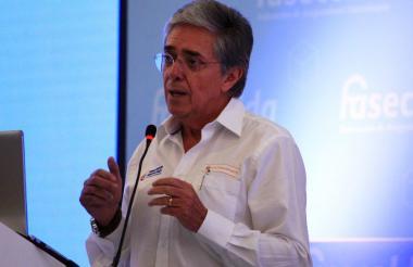 Germán Cardona, ministro de Vivienda (e).