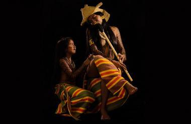 Una de las fotografías del afiche 'La Mohán'.
