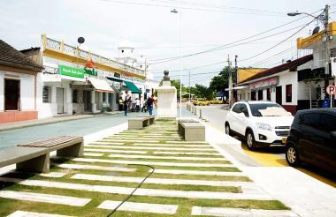 Aspecto de la Plaza de Soledad.