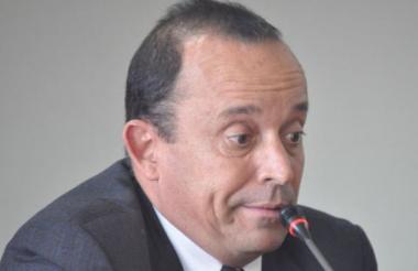 El ganadero Santiago Uribe Vélez.