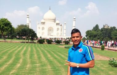 Juan D. Vidal ha disfrutado su estancia en India.