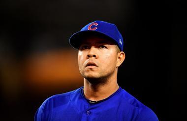 José Quintana, lanzador de los Cachorros de Chicago.