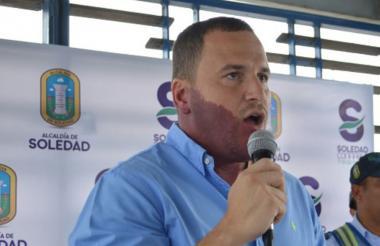 El director de Tránsito del municipio de Soledad, Emilio Sánchez Chapman.