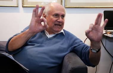 El científico colombiano, Manuel Elkin Patarroyo.