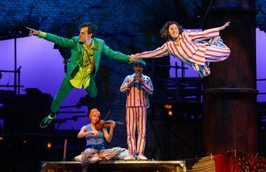 Escena de la adaptación de 'Peter Pan' al teatro.
