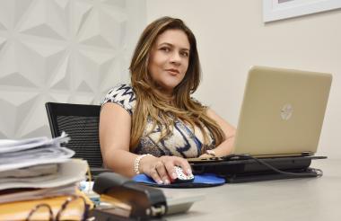 Adriana Plata, fundadora de  Link Marketing y Servicios.