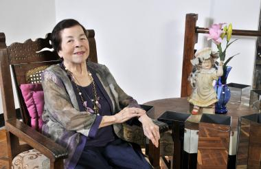 Graciela 'Gacho' Peña, coreógrafa fallecida en Barranquilla a sus 87 años.