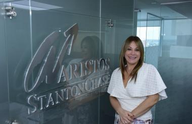 Laura Diazgranados, gerente regional norte de Aristos.