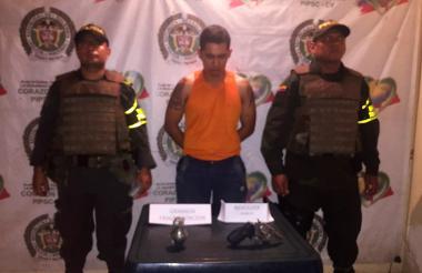 Alias 'Andrés' fue cobijado con medida de aseguramiento en establecimiento carcelario.