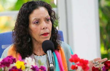 Rosario Murillo, vicepresidenta de Nicaragua.