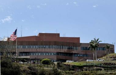 Embajada de EEUU en Caracas.