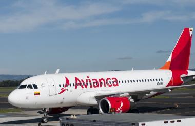 Aeronave de Avianca.