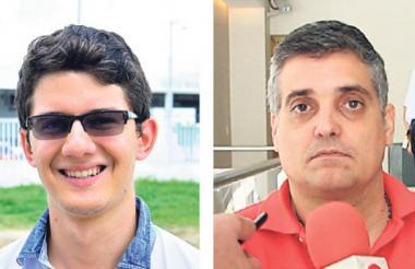 José Candena Bonfanti y Ramón Ignacio Carbó.